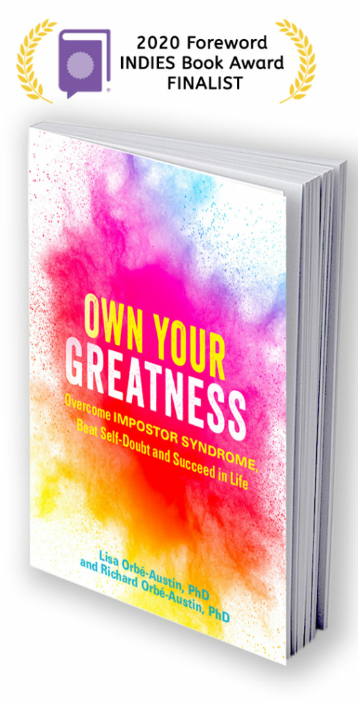 Own Your Greatness 2020 Foreword INDIES Book Award Finalist