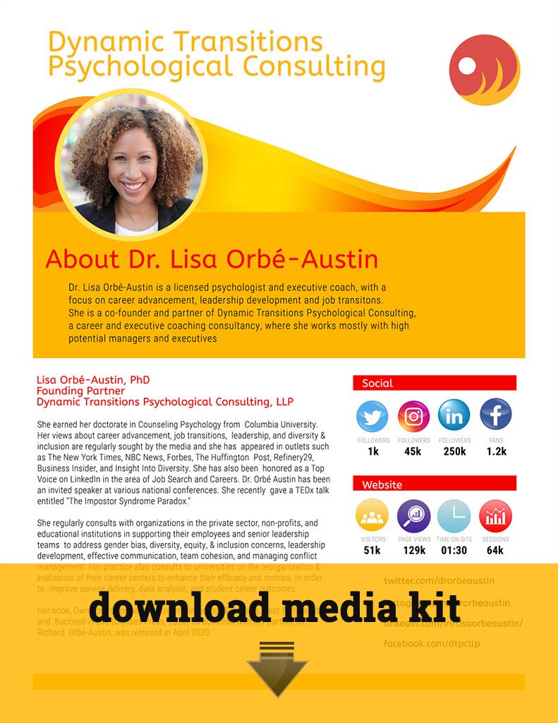 Lisa Orbé-Austin Media Kit