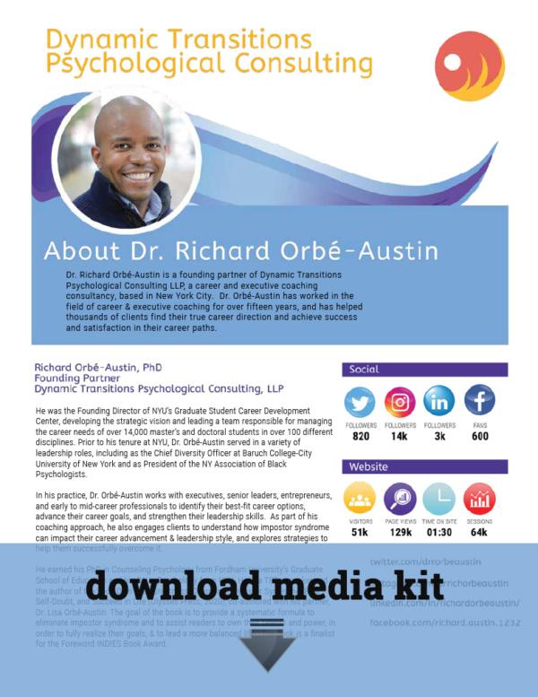 Richard Orbé-Austin Media Kit